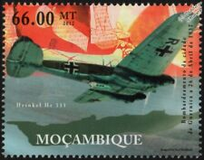 Luftwaffe HEINKEL He.111 Bomber Aircraft Stamp (Guernica, Spanish Civil War)