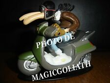 Scooter PEUGEOT 50 SV French moped Motorbike Joe Bar Team resin moped figure NEW