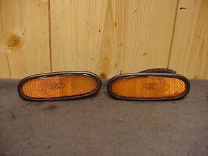 DAEWOO LEGANZA 97-02 1997-2002  FRONT SIDE MARKER LIGHT SET RH & LH  OE