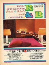 PUBLICITE  1967   ROCHE & BOBOIS  meubles