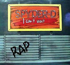 "12"" - Spyder-D Ft. DJ Doc - I Can't Wait (FUNKY) NUEVO - NEW, STOCK STORE LISTEN"