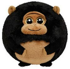 TY Beanie Ballz 4'' Plush TANK the Gorilla Ball ~NEW~