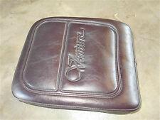 yamaha xvz1300 venture royale trunk backrest pad brown 1300 86 87 88 89 1990