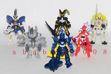 Bandai Little Battlers Experience LBX figure 02 gashapon (full set of 6 figures)