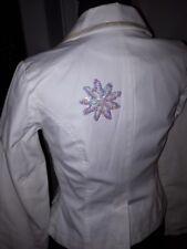 ONLY Blazer in weiß mit Pailletten Gr. 34 - 1x getragen