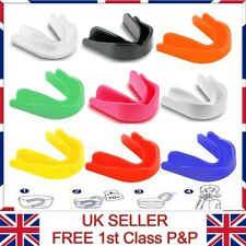 2x Adults & Junior Lightly Flavoured Gum Shield Mouth Guard For Fitness Sports
