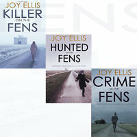 KILLER ON THE FENS Crime Thriller Joy Ellis Collection 3 Books Set HUNTED New PB
