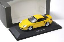 1:43 Minichamps Porsche 911 996 Turbo yellow DEALER NEW bei PREMIUM-MODELCARS