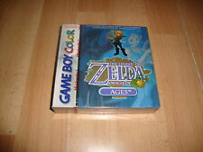 THE LEGEND OF ZELDA ORACLE OF AGES BLUE GB COLOR BRAND NEW FACTORY SEALED