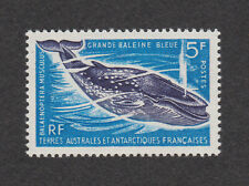 FSAT TAAF Sc# 25 MNH OG 1968 Great Blue Whale French Antarctic