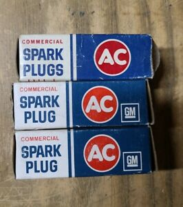 (3)Spark Plugs ACDelco Commercial C45L 20JS-1743-S2