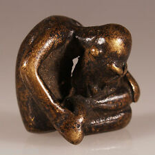 9195 Figure en bronze Dogon cire perdue