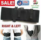 Gun Waist Belt Pistol Holder Tactical Pouch Belly Band Holster Hidden Carry Hand