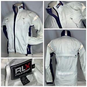 Ralph Lauren RLX Technologies Cycling Jacket XS Women White Nylon YGI L0-128