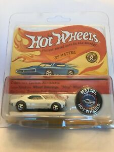 Hot Wheels RLC 50th Original 16 White Enamel CUSTOM CAMARO #1111 Ships Free!