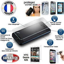 Protection d'Ecran en Verre Trempé Contre les Chocs pour HTC Desire 626
