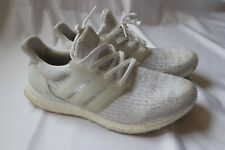 Adidas Ultra Boost 3.0 Triple White PK Men's Size 10 BA8841