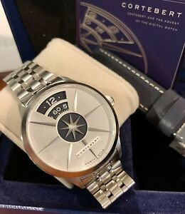 Cortebert North Star Limited Edition Men's Watch Stainless Steel Automatic Nice