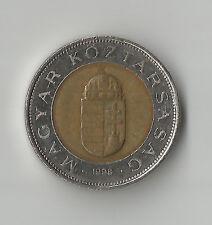 Hungary 100 one hundred Forint Coin 1998 nice circulated