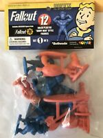 Fallout 76 Nanoforce Figures Bagged Playset  1st Of 3...New Issue!