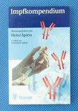 Impfkompendium | Heinz Spiess | 5.Auflage | Medizin | Buch |