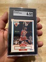 Michael Jordan SGC 6.5 Fleer 1990 #26 INFLATION HEDGE Last Dance VELVETY SLABBED