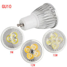 LED Spotlight GU10 MR16 E27 9W 12W 15W Downlight Lamp Warm Cool White Light Bulb