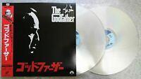 The Godfather 1972 SF098-1064 Japanese Laserdisk 2LD w/OBI w/Tracking No.
