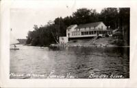 Vintage  Photo  River & cottage , somewhere in  Quebec Canada   mid century