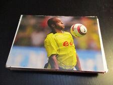 58813 David Odonkor BVB stemma senza firma autografo cartolina