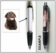 CHOCOLATE LABRADOR PUPPY PEN STATIONERY - PET DOG LOVER BREED PHOTO GIFT
