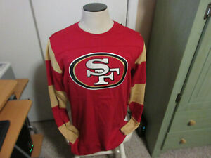 San Francisco 49ers Long Sleeve T-shirt new wt