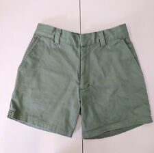 American Apparel Women's High Waisted Jean Shorts Green Size 25