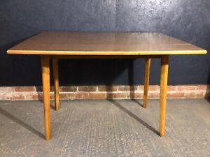 Vintage Formica Drop Leaf Table Kitchen Dining Table