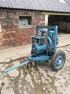 Lister HR2 Welder. Diesel, Portable.