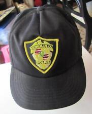 Vintage HONOLULU POLICE DEPARTMENT Hawaii Snapback Baseball Style Hat Cap