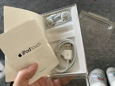 Apple iPod Touch box with unused 30 Pin Cable and Headphones