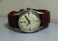 VINTAGE Tissot Seastar Winding Swiss Made Yello Dial Old Used Antique e825 Watch