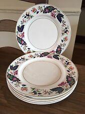"Pretty Vintage Grindley - Set of 5 lovely 9"" Salad Plates"