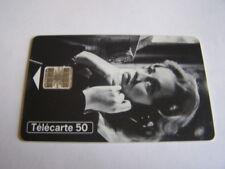 telecarte jeanne moreau cinéma 10 50u ref phonecote F699B