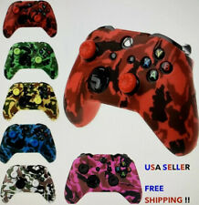 Camo Protective Silicone Skin Cover Xbox One Controller FREE Thumb Sticks
