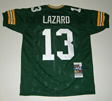 PACKERS Allen Lazard signed custom green jersey w/ #13 JSA AUTO Autographed WR