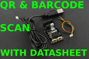 (2 in 1) QR and Barcode Scanner for Arduino
