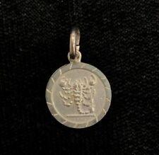 NEW Scorpio Sterling Silver Zodiac Pendant 925 Horoscope Charm S/S Scorpion