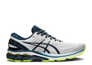 New $160 Asics Gel-Kayano 27 Glacier Grey French Blue Running Shoe Mens 12 w/box