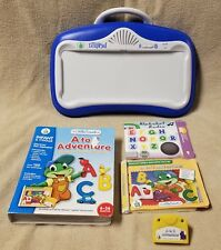 Leap Frog Blue LITTLE TOUCH LEAP PAD Learning System 1 Book Cartridge No Cushion