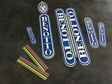 NOS Benotto vintage decals 70s 80s