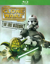 Star Wars: The Clone Wars - The Lost Missions (Blu-ray Disc, 2014, 2-Disc Set)