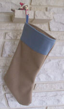 Confederate Infanrty Christmas Stocking, Butternut/Blue