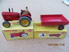 DINKY Toys No.300 TRACTOR & No.319 TRAILER.